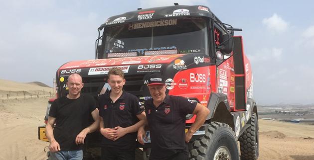 Dakar team van den brink