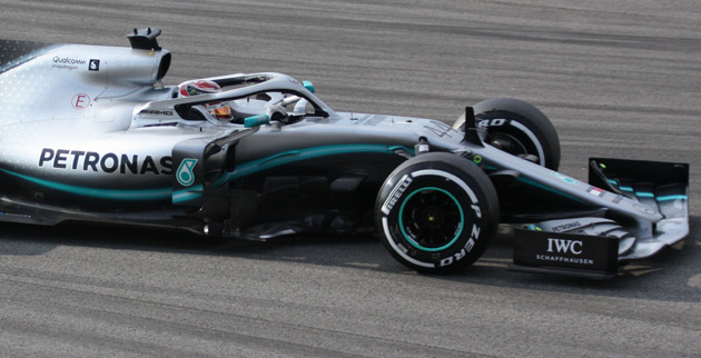 Remmen F1 GP China Mercedes