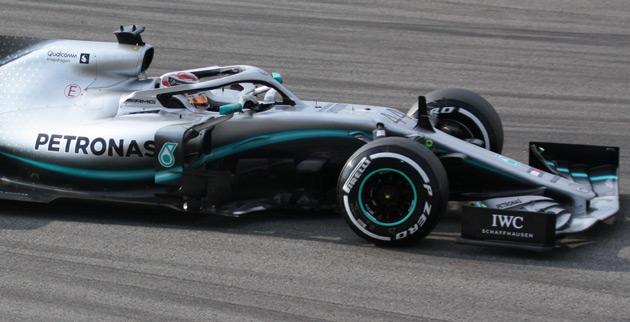 Remmen F1 GP China Mercedes